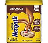 Nesquik Chocolate Powder Canister - 20.1 Oz