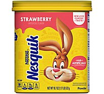 Nesquik Strawberry Powder - 18.7 Oz