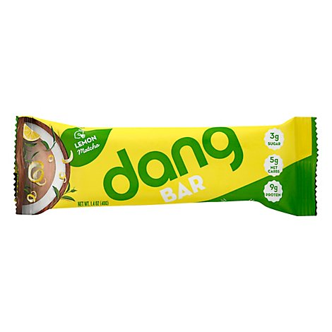 Dang Bar Lemon Matcha - 1.4 Oz