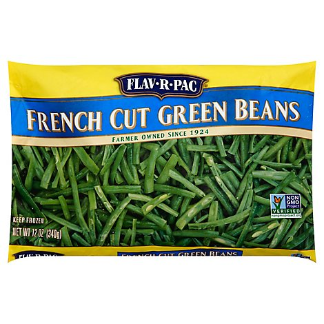 Flav R Pac French Cut Green Beans - 12 Oz
