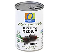 O Organics Olives Ripe Pitted Medium - 6 Oz
