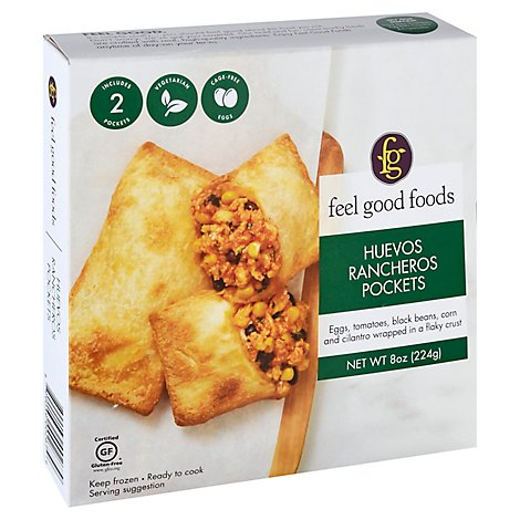 Feel Good Foods Pocket Huevos Rancheros - 8 Oz