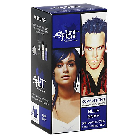 Splat Haircolor Blue Envy - 11.2 Oz