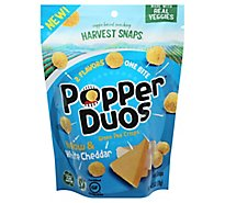 Popper Duos Yellow & White Cheddar - 2.75 Oz