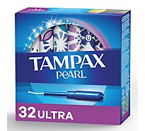 Tampax Pearl Ultra Tampons Unscented - 32 Count