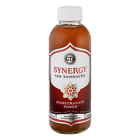 Gts Synergy Pomegranate Power Organic - 16 Fl. Oz.