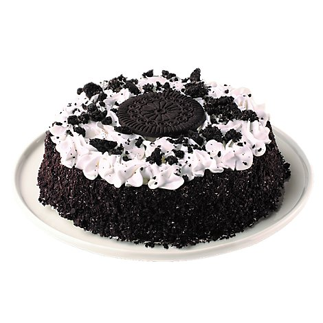 Uncle Harrys Cookies N Cream Ice Cream Cake - 27 Oz