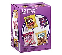 Ferrara Candy Company Caddies Cookies 4 Flavors - 12 Oz