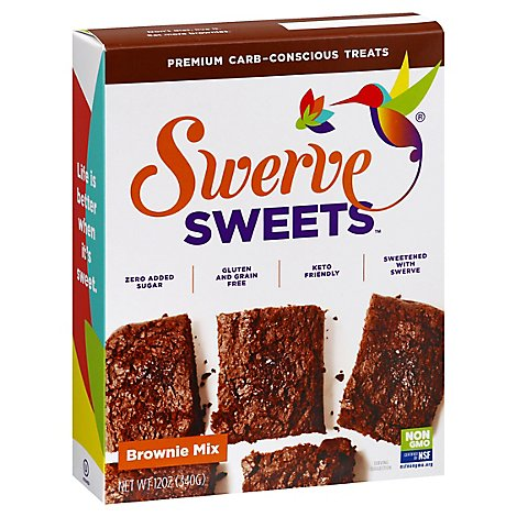 Swerve Mix Brownie Bake - 12 Oz