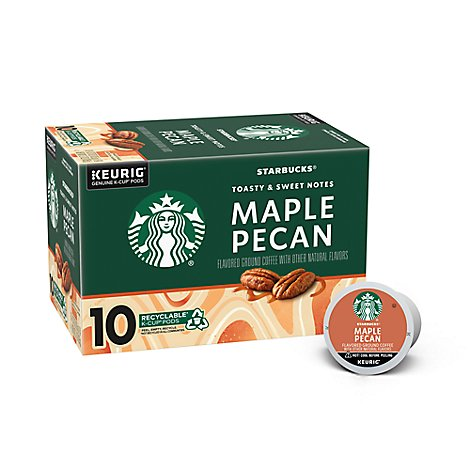 Sbux Kcup Maple Pecan 10ct - 10 Count