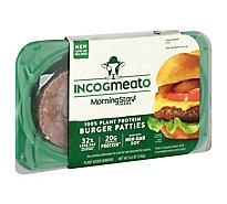 MorningStar Farms Incogmeato Plant-Based Burgers Original - 8.5 Oz