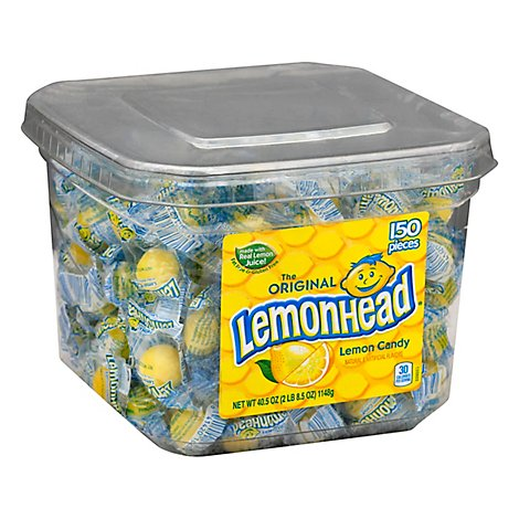 Lemonhead Tub - .27 Oz