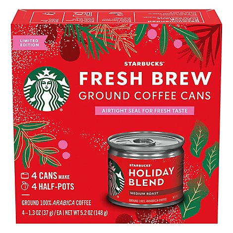 Sbux Holiday Blend Fresh Brew - Each