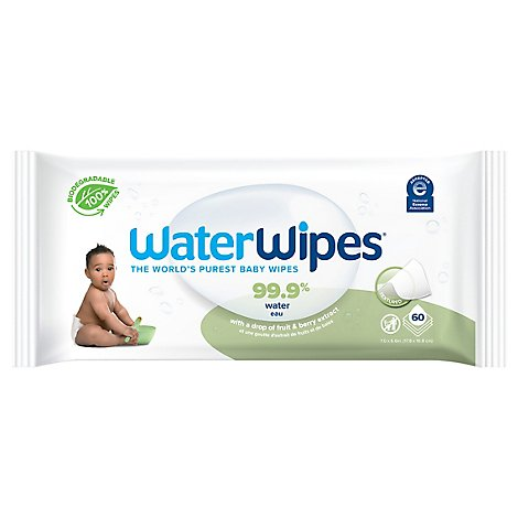 Waterwipes Soapberry - 60 Count