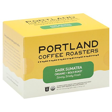 Portland Roasting Coffee Single Serve - 12 Count
