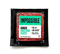 Impossible Foods Burger Made From Plants - 12 Oz.