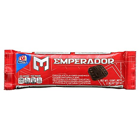 Gamesa Cookies Emperador Chocolate - 2.36 Oz