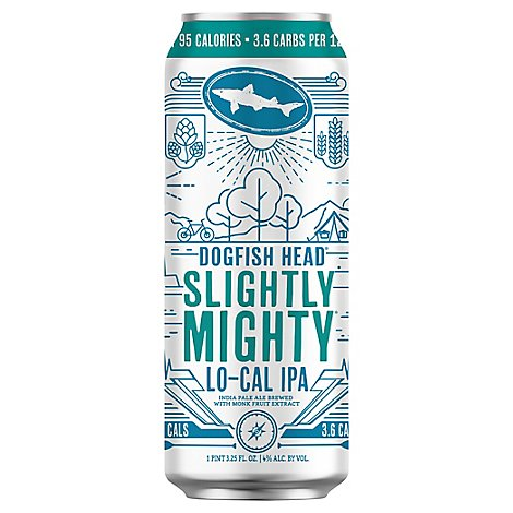 Dogfish Head Slightly Mighty In Cans - 19.2 Fl. Oz.