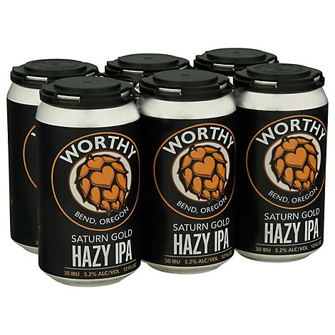 Worthy Seasonal Hazy In Cans - 6-12 Fl. Oz.