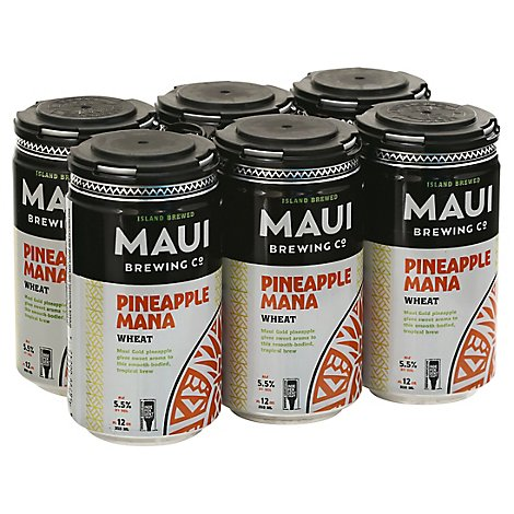 Maui Brew Mana Wheat In Cans - 6-12 Fl. Oz.