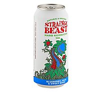 Strainge Beast Blueberry Acai & Sweet Basil In Cans - 16 Fl. Oz.