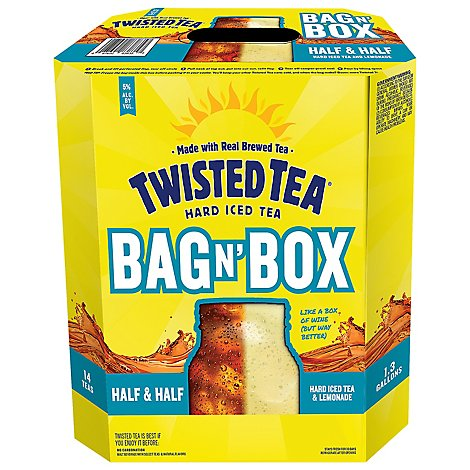 Twisted Tea Half And Half Bag In Box - 5 Liter