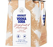 Absolut Grapefruit & Rosemary - 4-355Ml