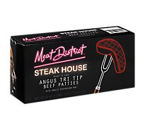 Meat District Steakhouse Angus Beef Tri Tip Hamburger Patties - 32 Oz.