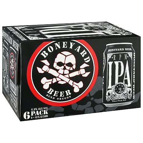 Boneyard Rpm Ipa In Cans - 6-12 Fl. Oz.