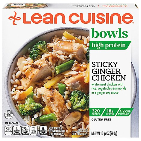 Lean Cuisine Frozen Sticky Ginger Bowl - 10.25 Oz