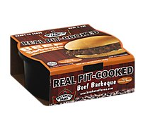 Brookwood Beef Barbeque Chopped Texas Sauce - 16 Oz