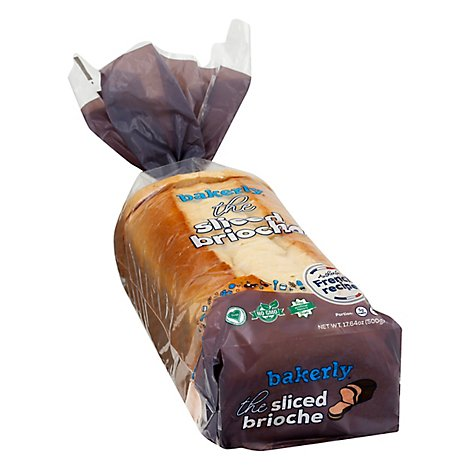Bakerly Sliced Brioche - 17.64 Oz