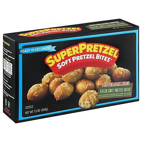 Soft Pretzel Pepper Jack Cheese Bites - 13 Oz