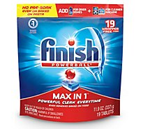 Finish Powerball Max In 1 - 19 Count
