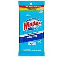 Windex Original Glass & Surface Wipes - 38 Count