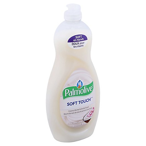 Palmolive Soft Touch Liquid Dish Soap Ultra Coconut Butter & Orchid Scent - 20 Fl. Oz.