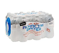 Signature Select Water Alkaline - 24-16.9Fl. Oz.