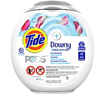 Tide PODS Laundry Detergent Liquid Pacs With Downy Free - 54 Count