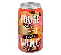 House Wine Paloma Cktl Can - 375 Ml
