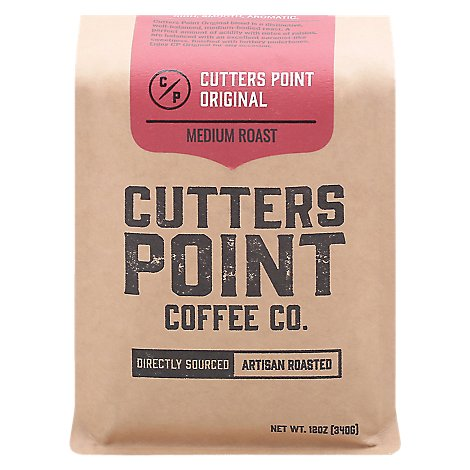 Cutters Point Coffee Ground Original - 12 Oz