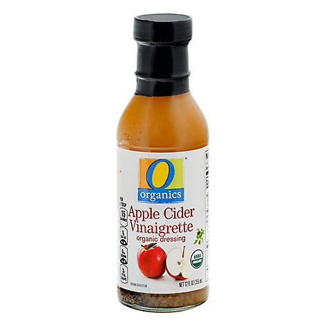 O Organics Dressing Apple Cider Vinaigrette - 12 Fl. Oz.