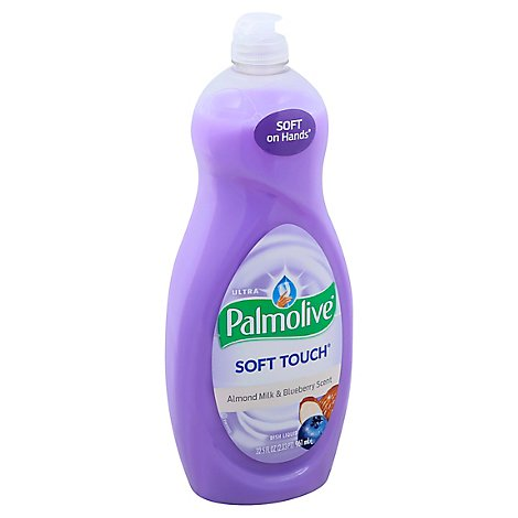 Palmolive Soft Touch Liquid Dish Soap Ultra Almond Milk & Blueberry - 32.5 Fl. Oz.