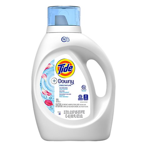 Tide Liq Det Plus Downy Unscnt - 92 Fl. Oz.