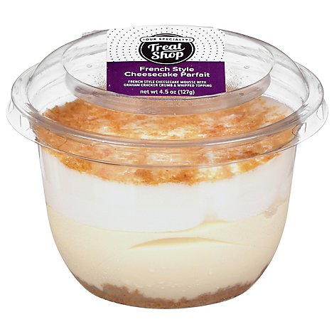 French Style Cheesecake Parfait Cup - 4.5 Oz
