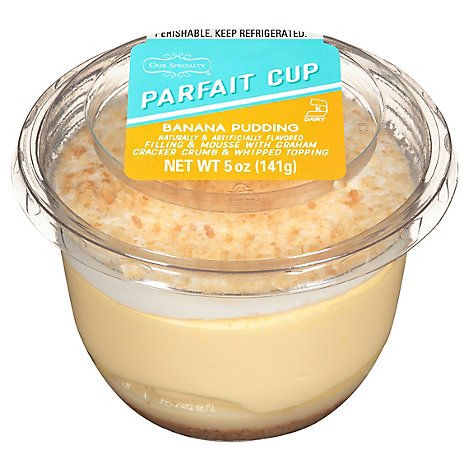 Banana Pudding Parfait Cup - 5 Oz
