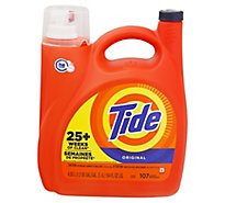 Tide Liquid Laundry Detergent Original 107 Loads - 154 Fl. Oz.