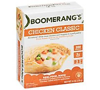 Boomerangs Pies Chicken Pot Pieaussie Crust - 6 Oz