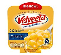 Velveeta Original Shells & Cheese Single Serve Big Bowl - 5 Oz