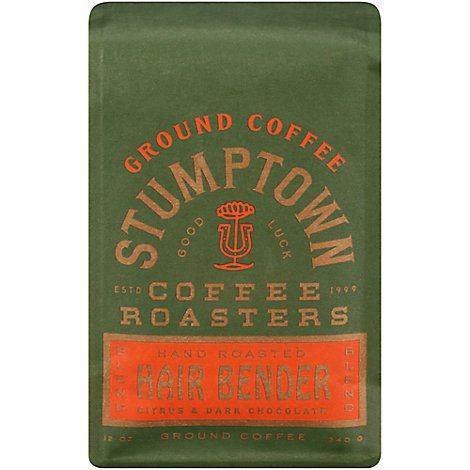 Peets Stumptown Hair Bender Ground Coffee - 12 Oz