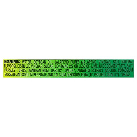 Wish-Bone Dressing Jalapeno Lime Vinaigrette Spicy - 15 Oz